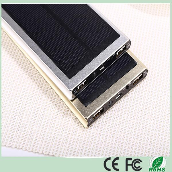 Ultra Slim Dual USB 12000mAh Solar Powerbank (SC-1688-A)