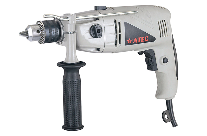 810W 13mm Applications Hand Tool Electric Impact Drill (AT7227)