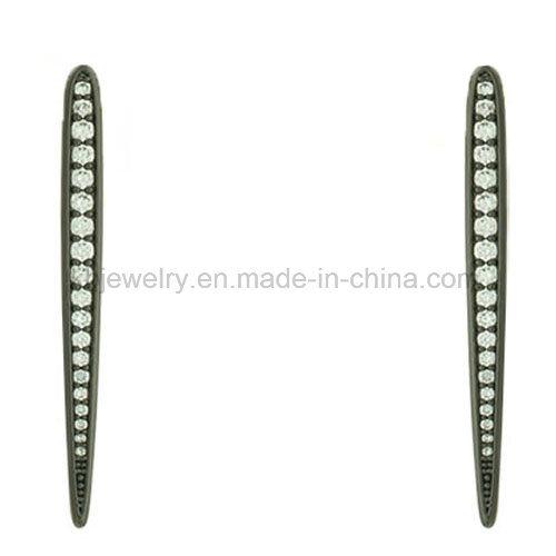 Cheap Price Brass Jewelry Gold Plated Earrings (KE3208)