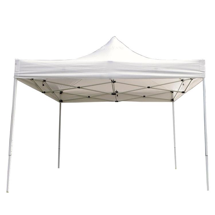 white frame foldable canopy