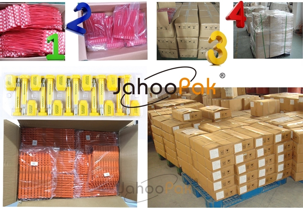 Tamper Proof Pull Tight Self-Locking Wire Cable Seals for Containers