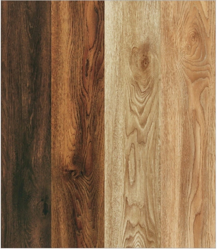 12mm Hand-Scraped Imitation Wood V-Bevelled Laminated Flooring