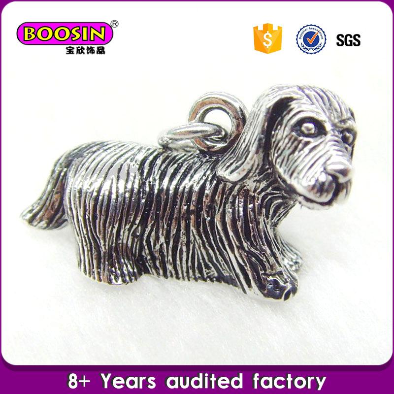 Metal 3D Pendant Charm Wholesale Metal Dog Charms