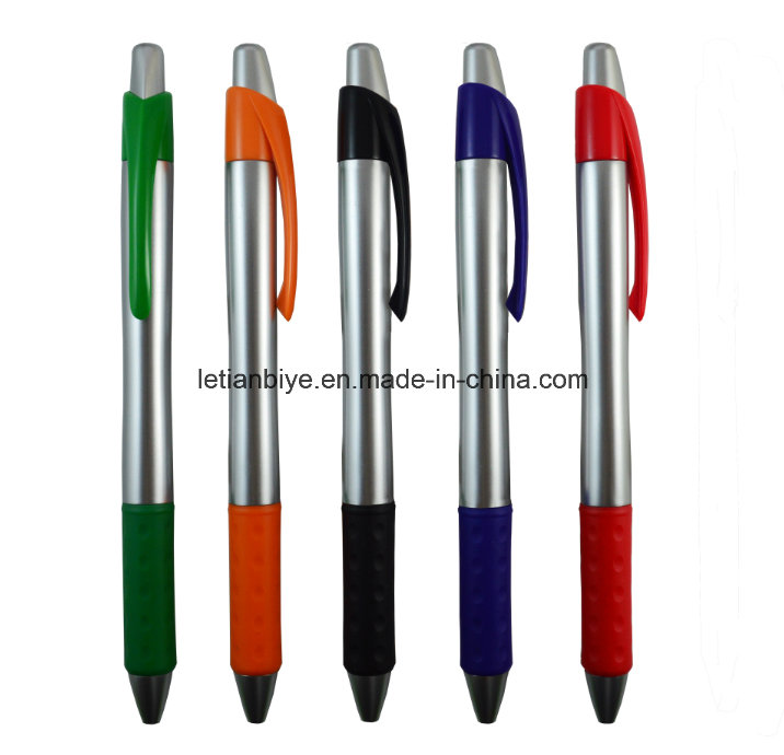 Customized Logo Click Ballpoint Plastic Pen for Advertising