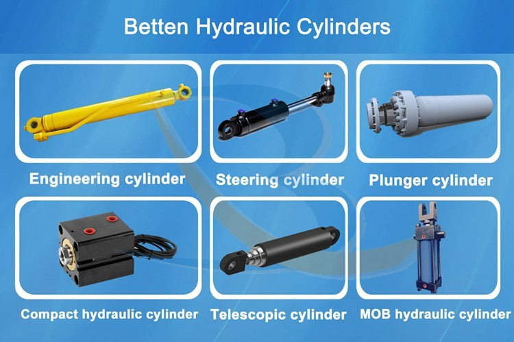 Long Stroke Steel Rod Telescoping Hydraulic Cylinders for Dump Trailer