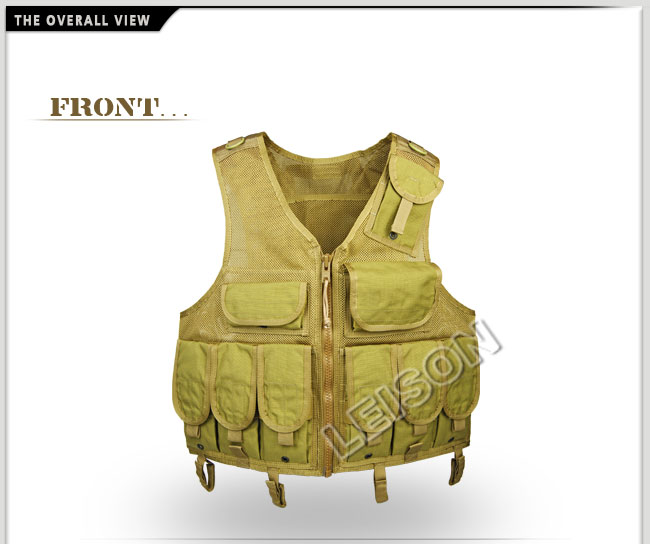 Mesh Tactical Vest with ISO Standard