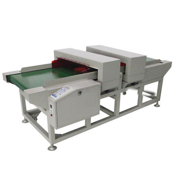 Double Sensor Twin Head Conveyor Type Needle Metal Detector