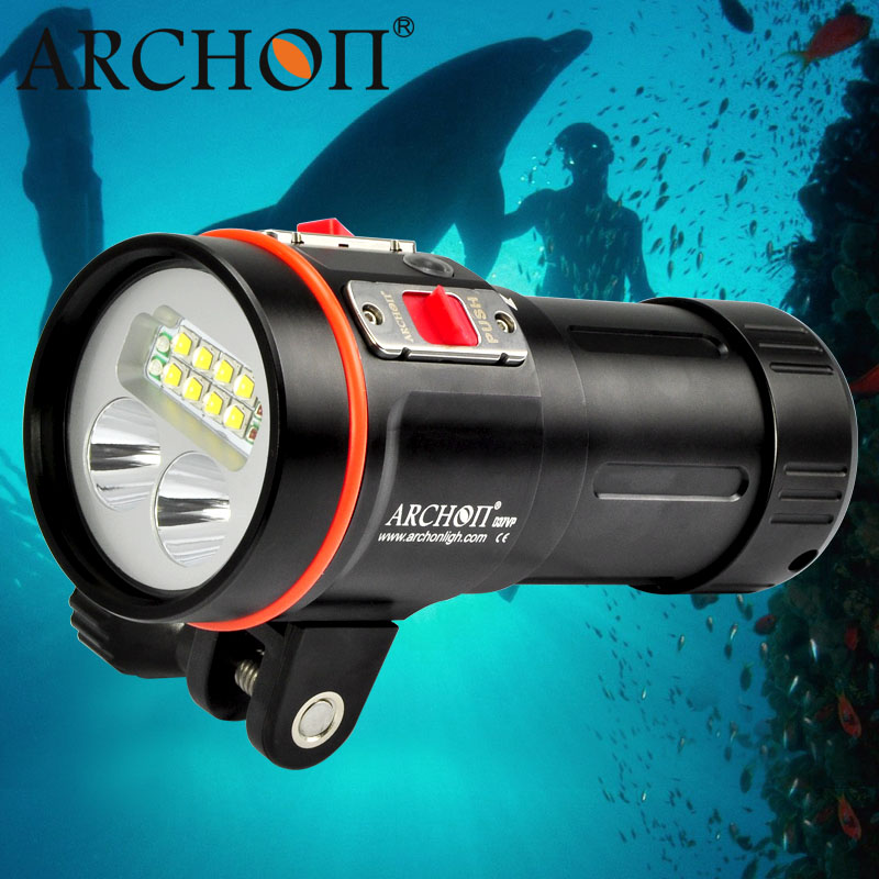 Professional W43vp 5, 200lm Multifunctional Diving Light with 1