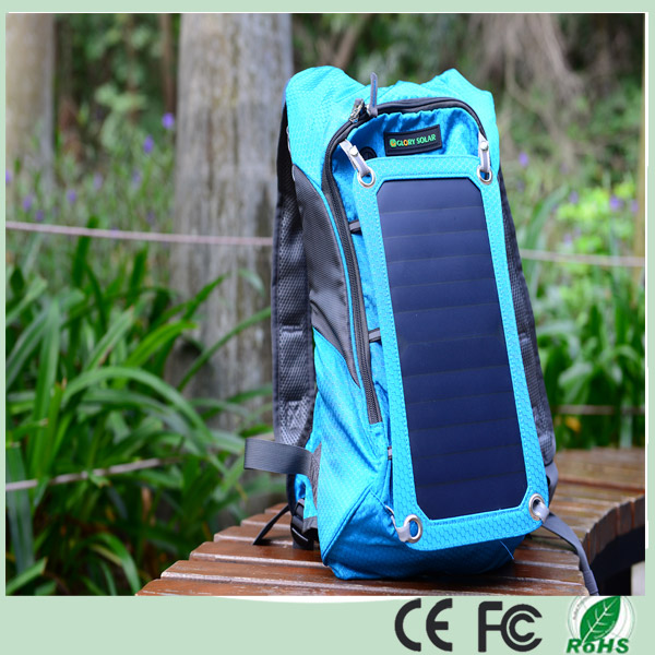 IP67 Waterproof 35L 6.5W Cycling Solar Power Backpack with 2.5L Water Bladder Bag (SB-178-B)