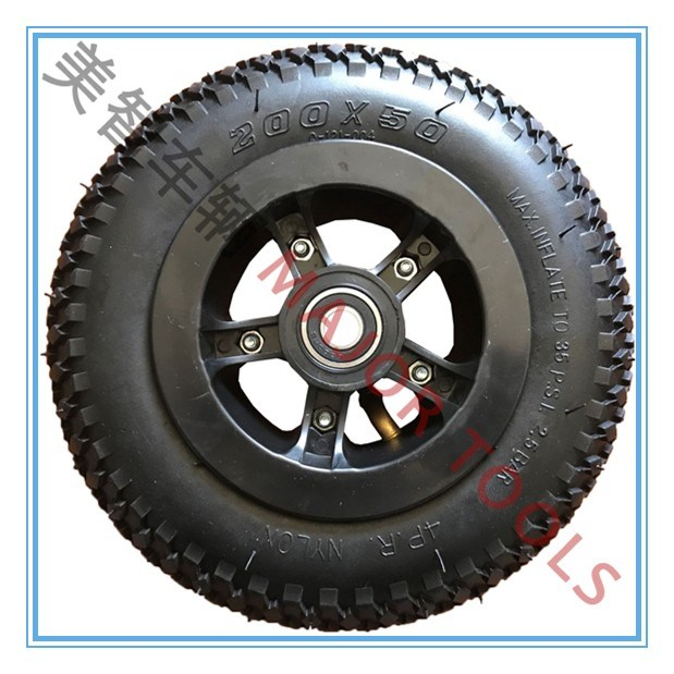 8 Inch Rubber Inflatable Wheels, Rubber Tires, Baby Carrier Wheels, Children's Toy Cars, Wheels, Small Cars, Wheels