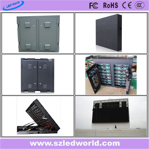 P10 DIP Outdoor Full Color Fixed LED Display Panel for Advertising
