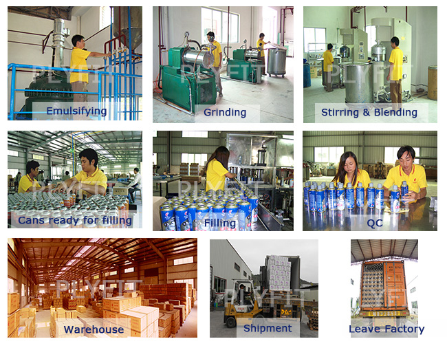 Body Surface Prevent Silicone Oil Spray Mould-Releasing