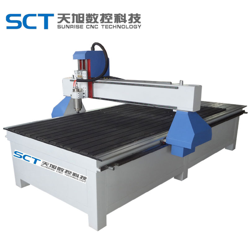 9015 CNC Router untuk Kaca Ukiran Papan Warna Ganda Engraving Cutting