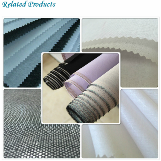 100% Cotton Shirt Collar Interlining Without Coating