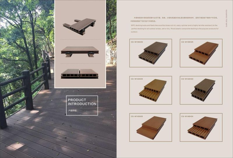 WPC Wall Panel WPC Decking Wood Plastic Composite Decking