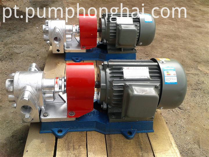 LQB stainless steel material heat insulation gear pump