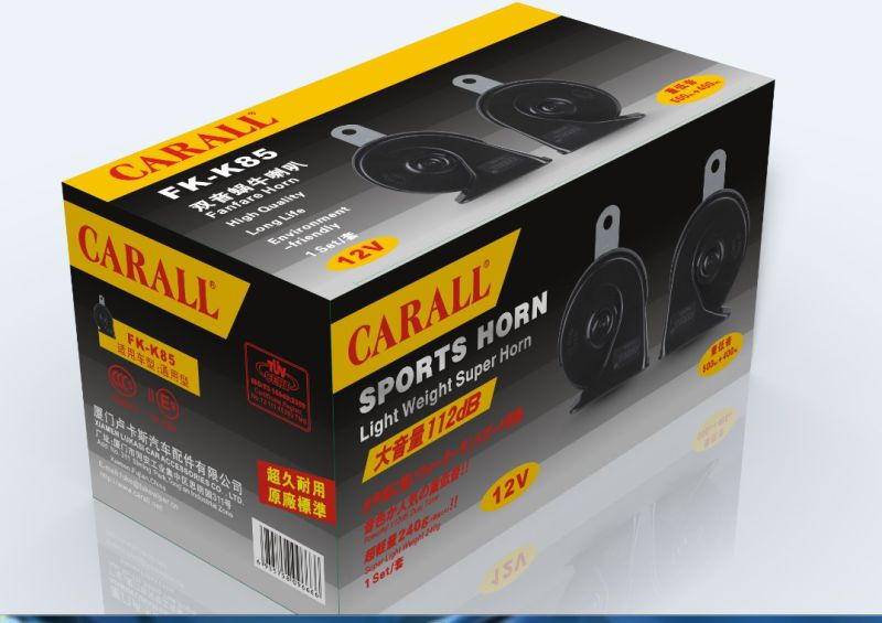 New Arrival 12V Multi Sound Car Horn Train Horn Mini Siren Approved by E-MARK and CCC