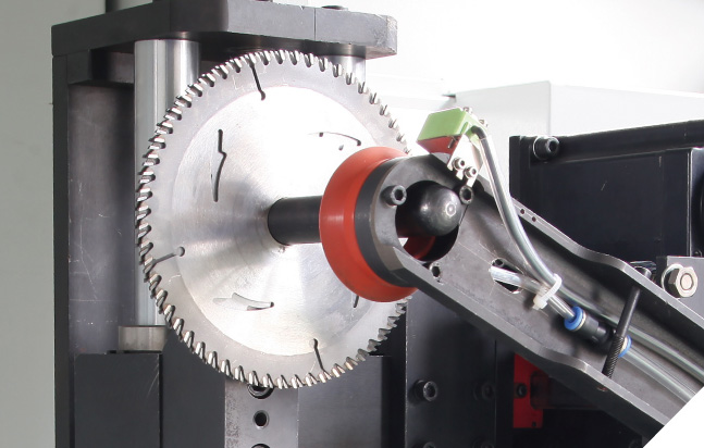 Mlh-300b Full Automatic Back Angle Circular Saw Blade Sharpening Machine (Robot Arm)