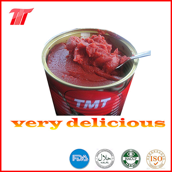 Turkish 400g Canned Tomato Paste of Tmt Brand