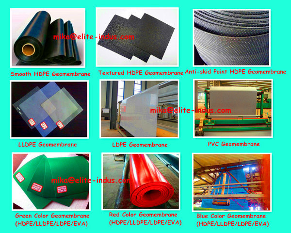 Chemical Resistance HDPE Geomembranes Supplier