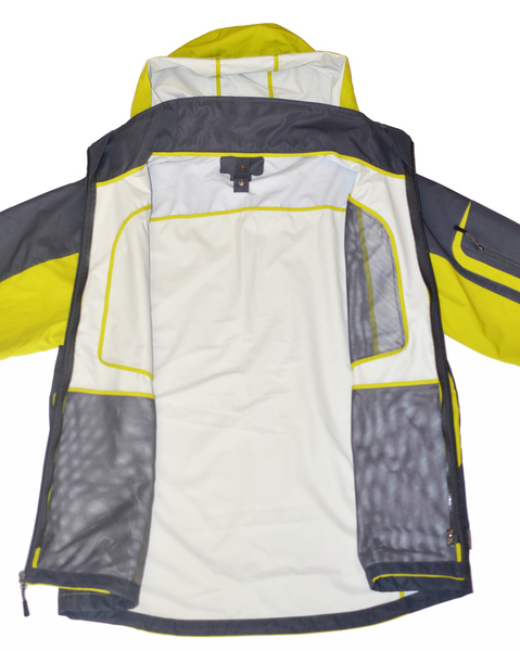 2-in-1 Waterproof Shell with Removeable Warm Inside Jacket