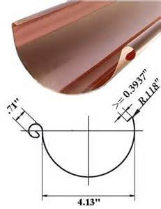 Half Round Gutter Roll Forming Machine