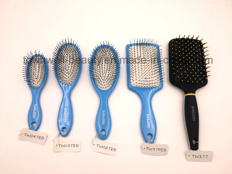 Antibacterial Tourmaline Plastic Hair Brush
