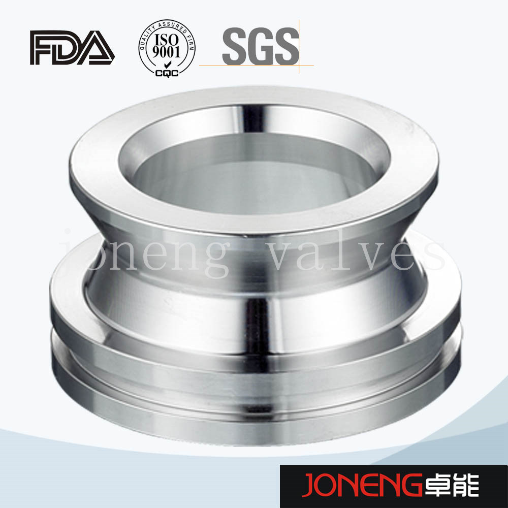 Stainless Steel Sanitary 21MP Threaded Triclover Pipe Adapter