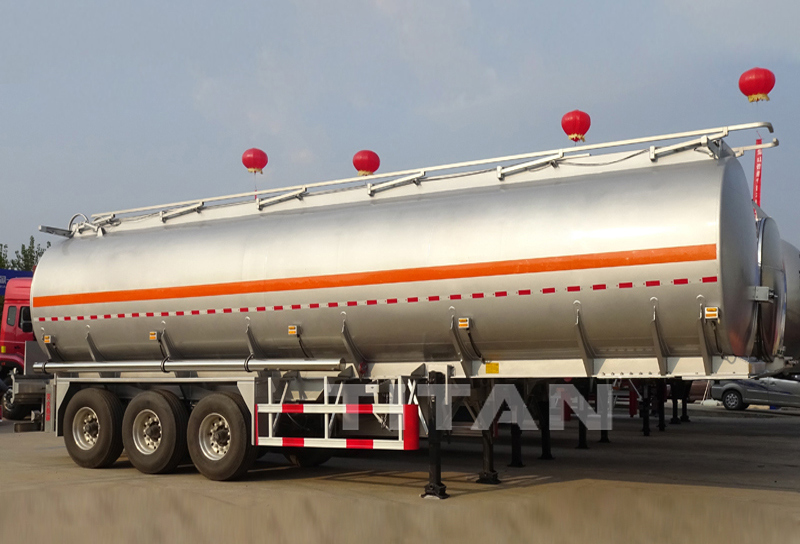 45000 Liters Oil Petrol Truck Aluminium Fuel Tanks