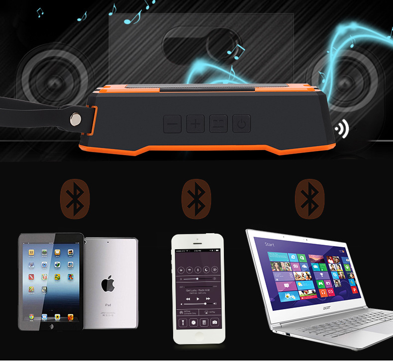 Newest! Wireless Smart APP Control Waterproof WiFi Speaker Network Player with Radio Speaker