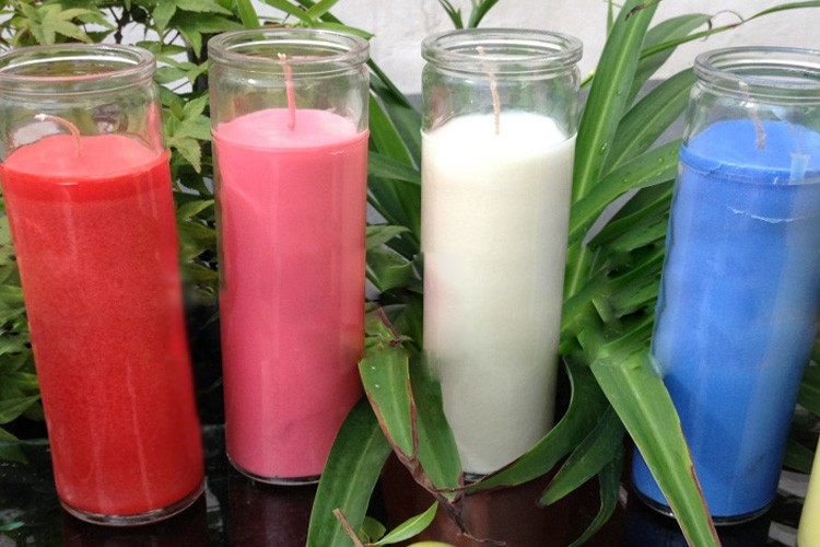 7 Days Jar Candles Religious