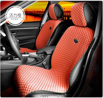 Car Seat Cushion Flat Shape Ice Silk