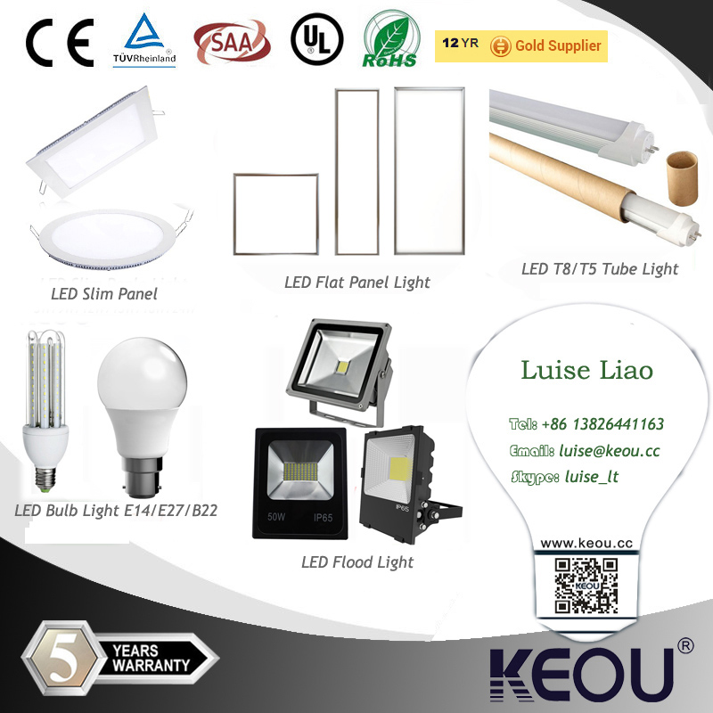 High Power Aluminum Profile 12W/24W/36W/40W/48W/72W LED Panel Light