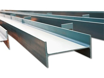 Q235/345 Hot Rolled I Beam Steel, Roof Support Structural Steel I Beam 180X94mm