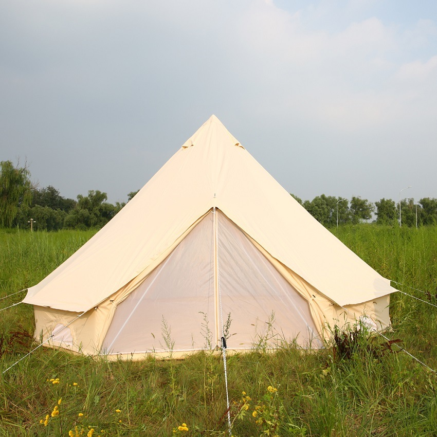 Family Mouldproof Tipi Tent Waterproof Outdoor Party Sahara Kids Bell Tent