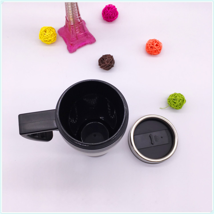 Eco-Friendly 16oz Good Metal Plastic Handle PP Lid Thermal Mug (SH-SC39)