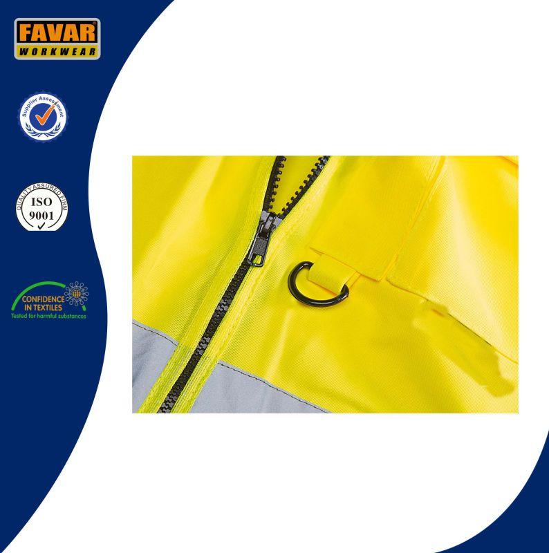 Yellow Hi Vis Executive Waistcoat Safety Vest