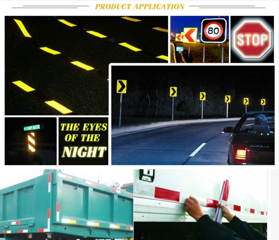 PVC Arrow White and Blue Design Reflective Tape for Trucks