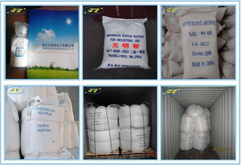 Meishan Jiayuan Chemical Co., Ltd / Ssa/ Glauber Salt