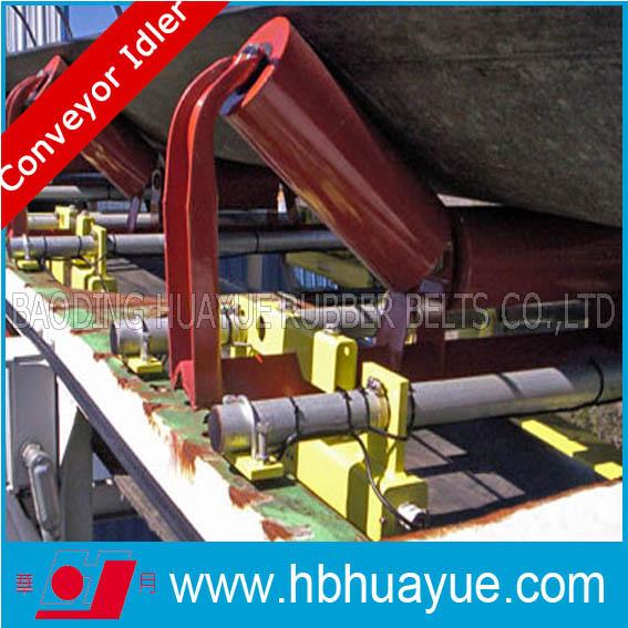 Rubber Conveyor Belting Sustem Roller Idler Huayue Diameter 89-159mm China Well-Known Trademark