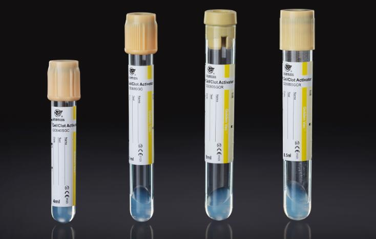 CE Approved Vacuum Blood Collection Tube Gel/Clot Activator