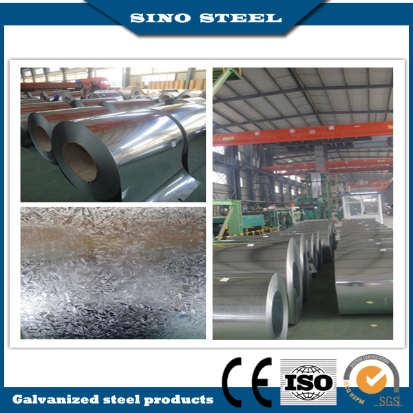 Dx51d Hot Dipped Galvanized Steel Coil for Roofing Sheet