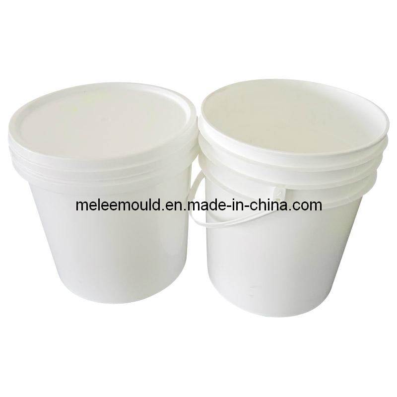 Plastic Injection Bucket Lid Tooling