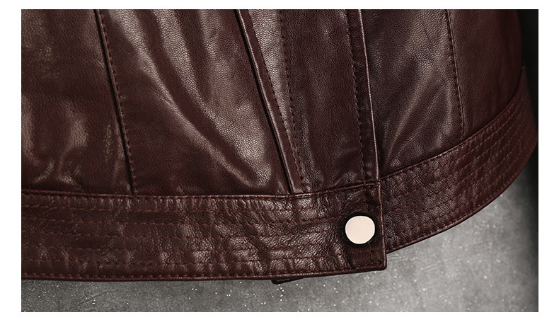 New Women's Genuine Sheep Leather Jacket