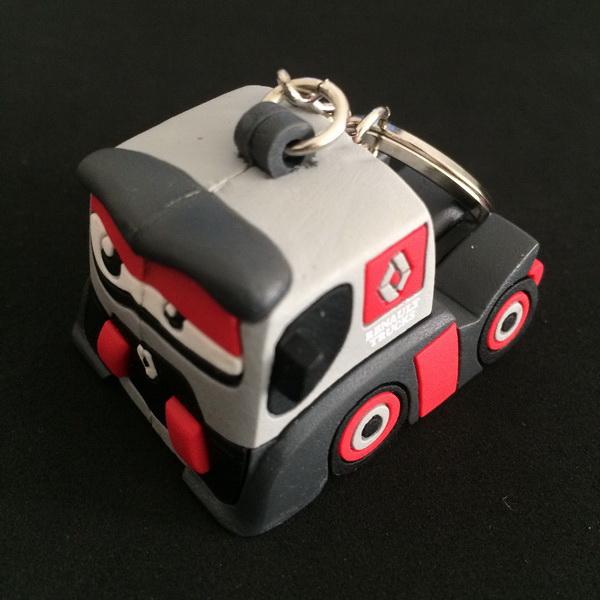 Custom 3D Rubber PVC Rugby Ball Shape Keyring for Souvernir Gift