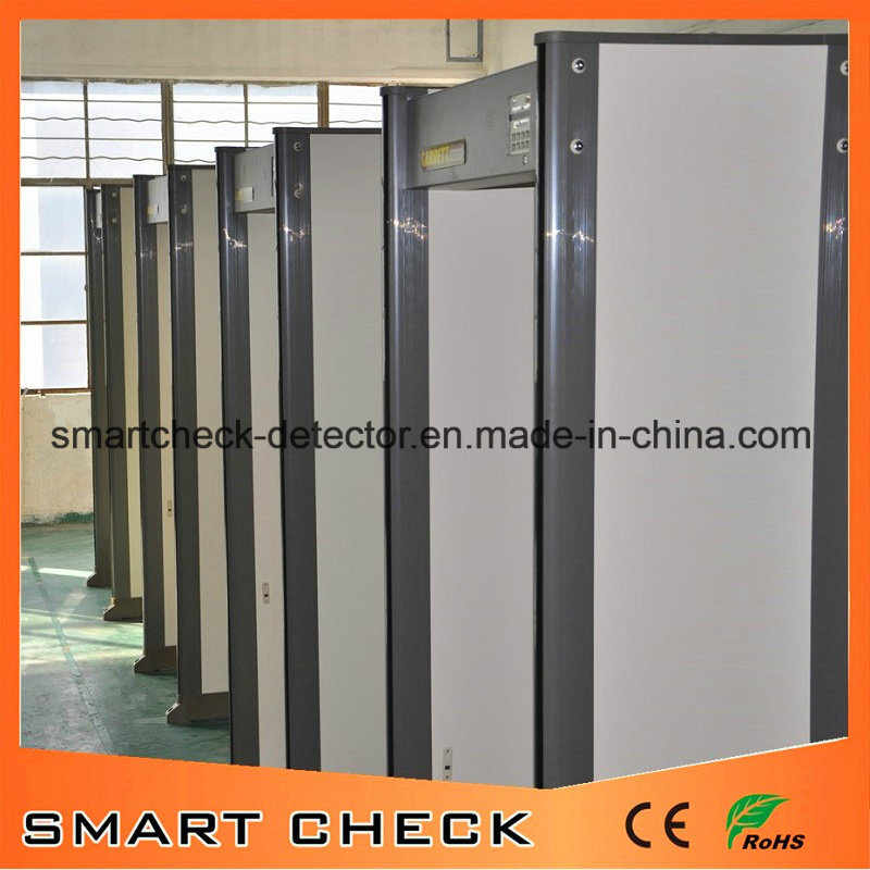 33 Zones Walk Through Metal Detector Gate Security Equipment for Checkpoint Security Inspection