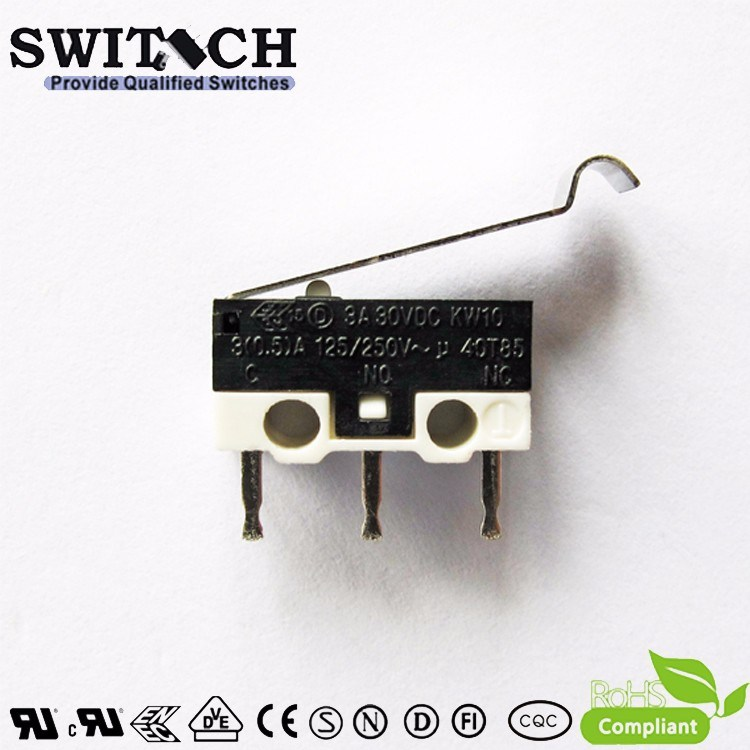 Snap Action Switch, Arcade Micro Switch 10A 250V 5e4 for Snap Circuit