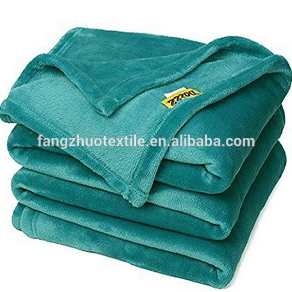 flannel green blanket