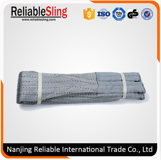 Synthetic Sling/ Weaved Sling/Polyester Webbing Sling/Lifting Sling with Lifting Eye/Webbing, Ce, GS Certificated