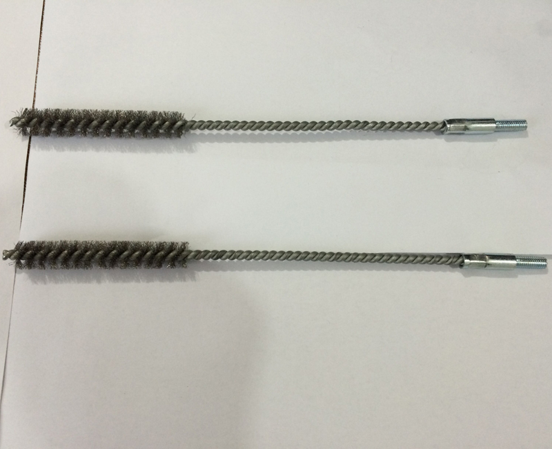 Stainless Steel Wire Tube or Polishing Brush with Screw (YY-594)
